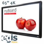 Aktywna Tablica monitory interaktywne myBoard 65 4K