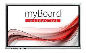 Aktywna Tablica monitory interaktywne myBoard Grey 4K UHD