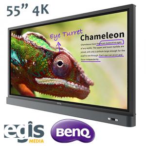 "Aktywna Tablica Monitor interaktywny BenQ 55"" RM5501K"