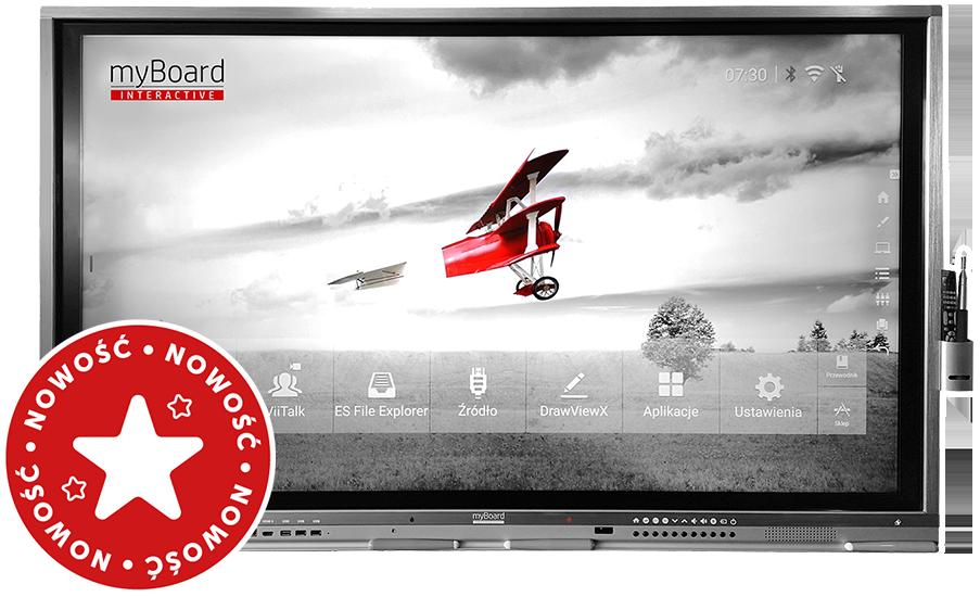 monitor interaktywny myBoard Grey TE-MP