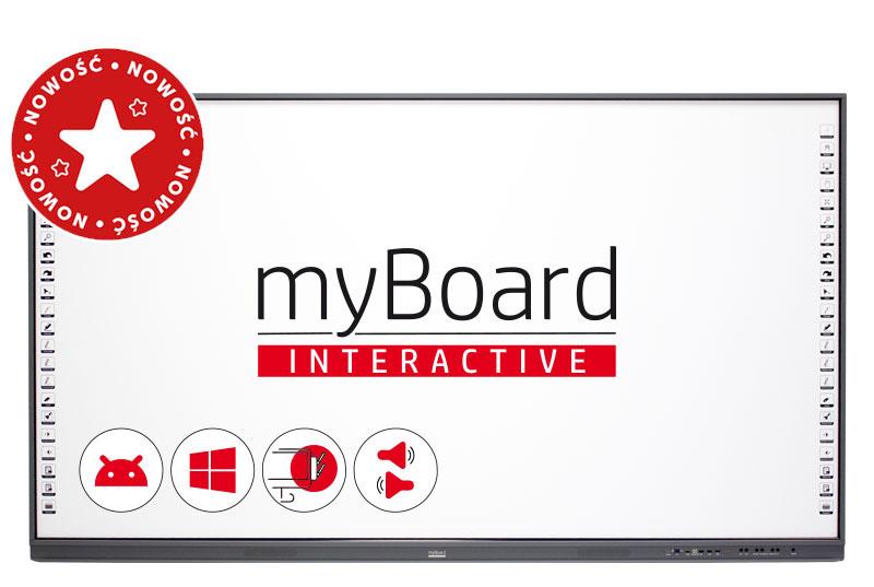 Tablica interaktywna myBoard Grey AiO