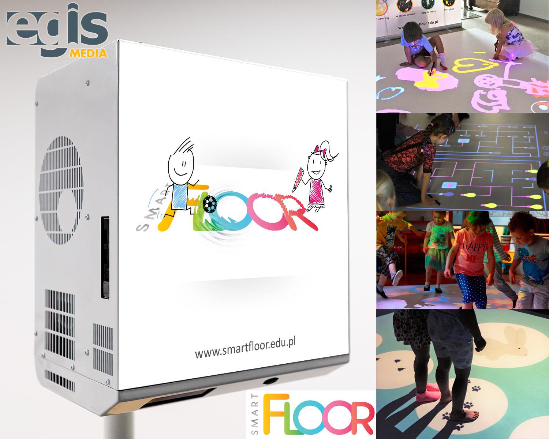 SmartFloor - podłoga interaktywna egismedia.pl
