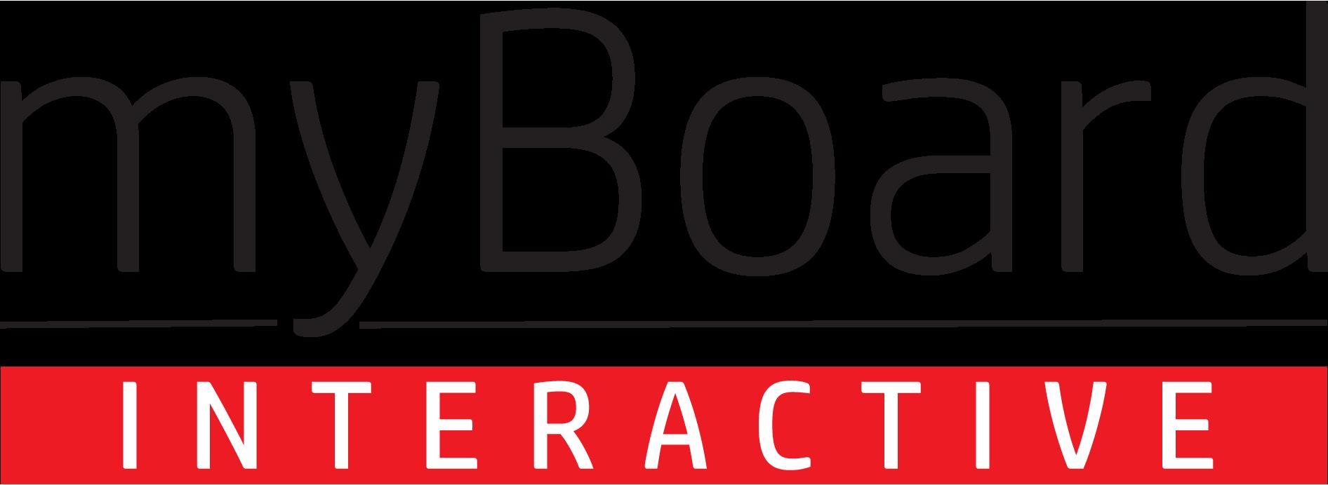 myBoard interactive logo